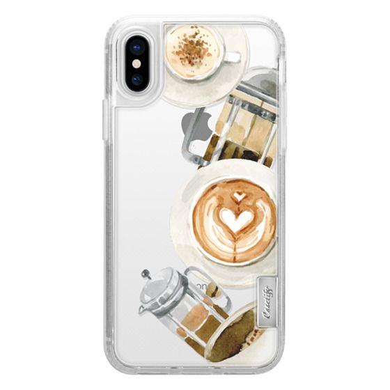 iPhone X Cases - Coffee