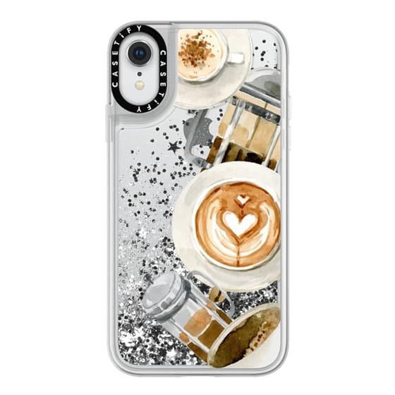 iPhone XR Cases - Coffee