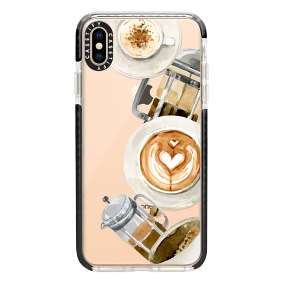 iPhone XS Max Cases - Coffee