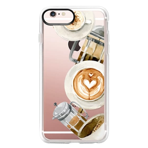 iPhone 6s Plus Cases - Coffee