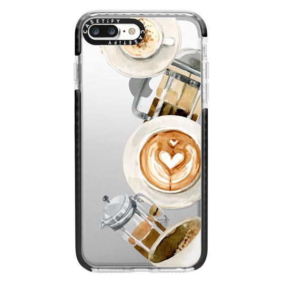 iPhone 7 Plus Cases - Coffee