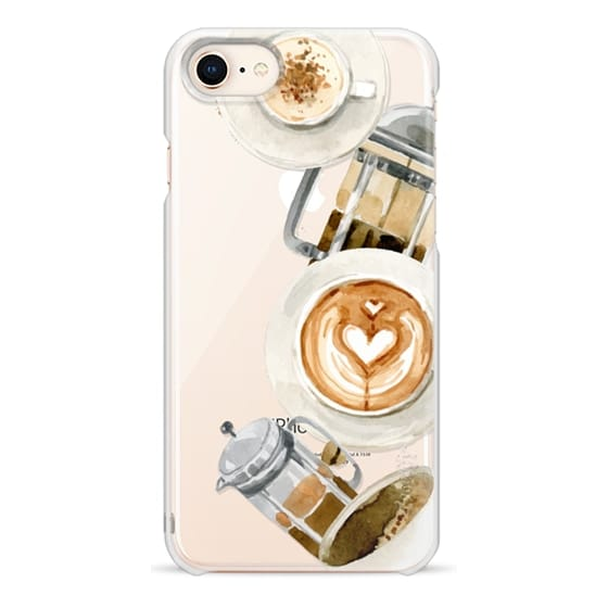 iPhone 8 Cases - Coffee