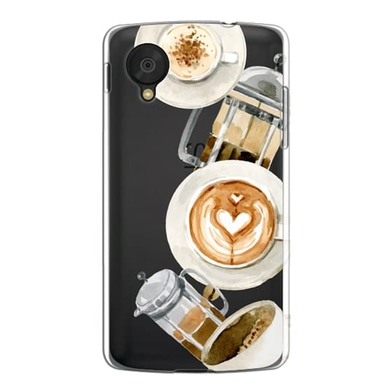 Nexus 5 Cases - Coffee