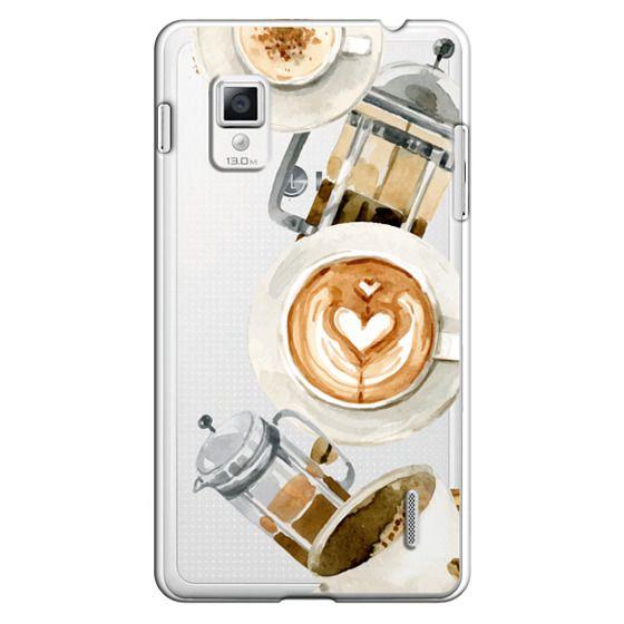 Optimus G Cases - Coffee