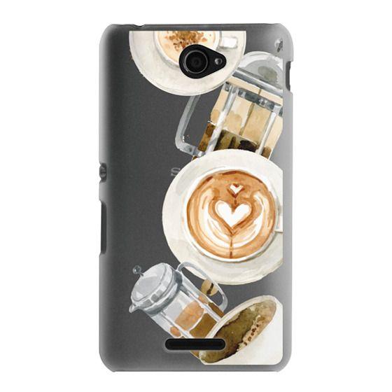 Sony E4 Cases - Coffee