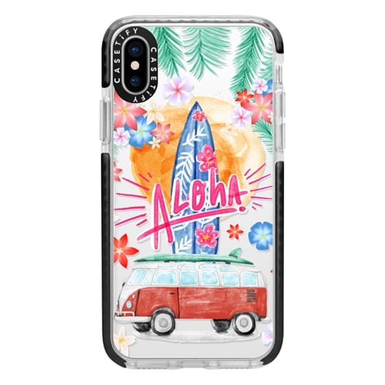 iPhone X Cases - Aloha Hawaii