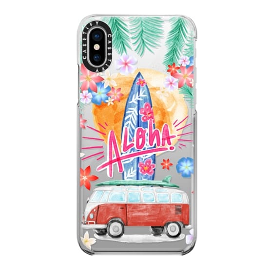 iPhone X Cases - Aloha Hawaii
