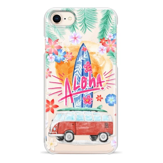 iPhone 8 Cases - Aloha Hawaii