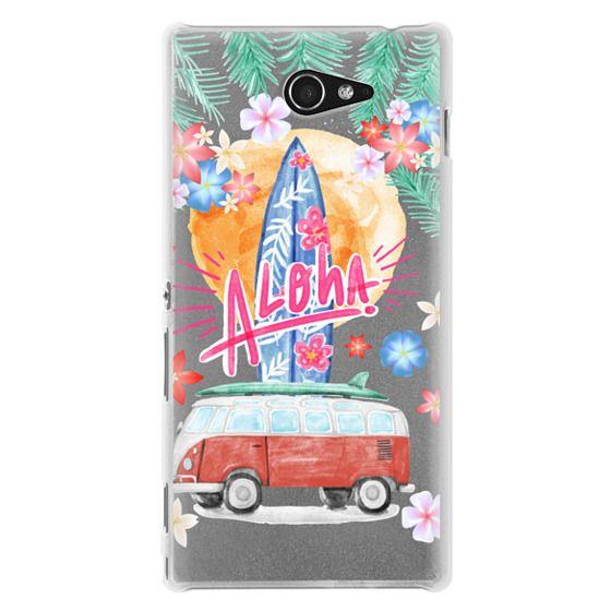Sony M2 Cases - Aloha Hawaii