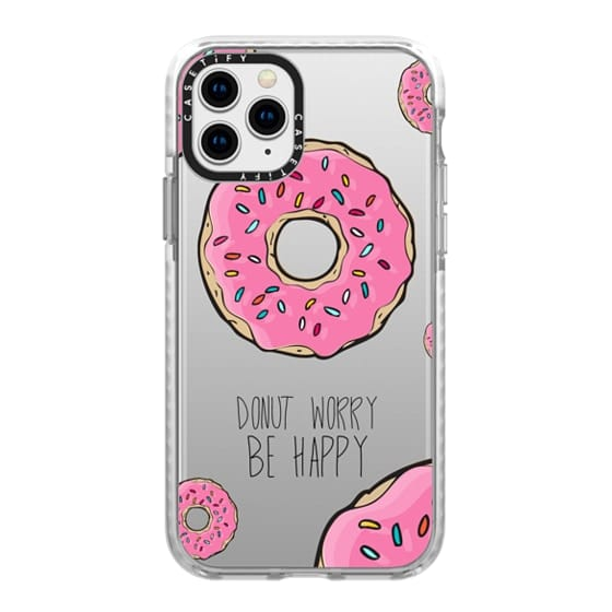 iPhone 11 Pro Cases - Donut Worry, Be Happy