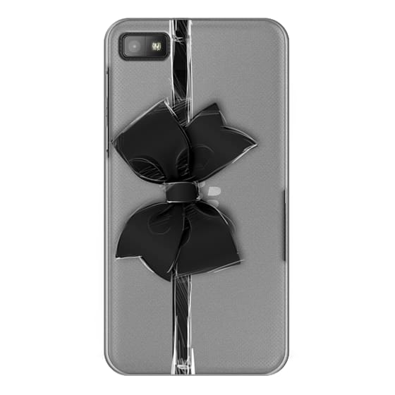 Blackberry Z10 Cases - Black Bow