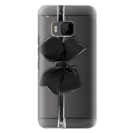 Htc One M9 Cases - Black Bow