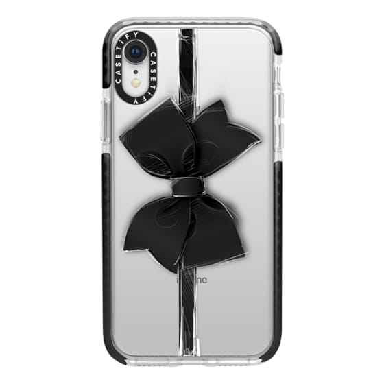 iPhone XR Cases - Black Bow
