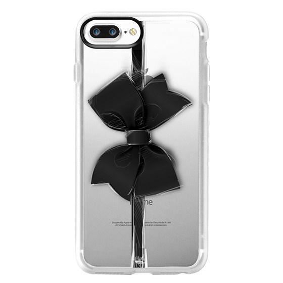 iPhone 7 Plus Cases - Black Bow