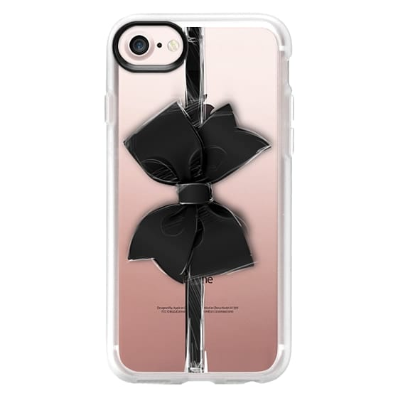 iPhone 7 Cases - Black Bow