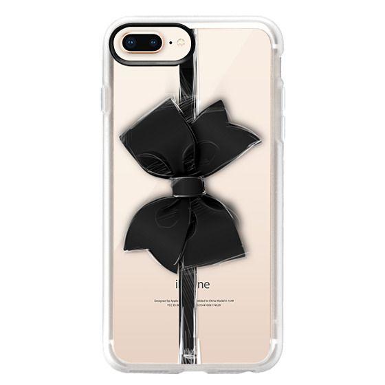 iPhone 8 Plus Cases - Black Bow
