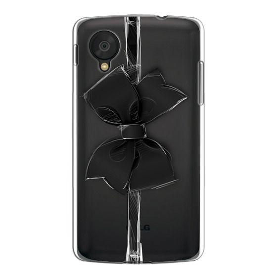Nexus 5 Cases - Black Bow
