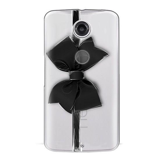Nexus 6 Cases - Black Bow