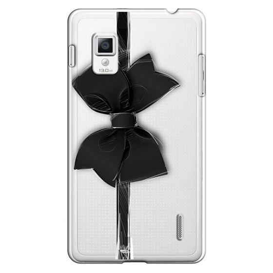 Optimus G Cases - Black Bow