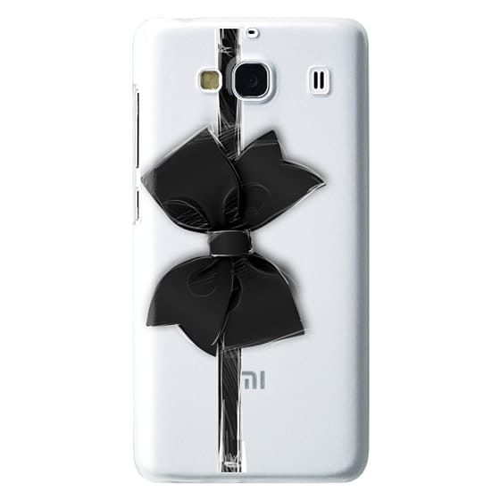 Redmi 2 Cases - Black Bow