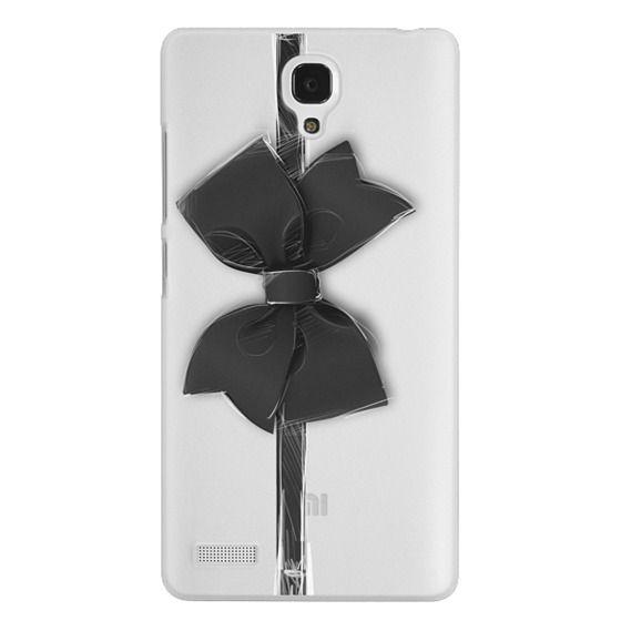 Redmi Note Cases - Black Bow