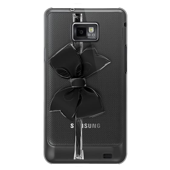Samsung Galaxy S2 Cases - Black Bow