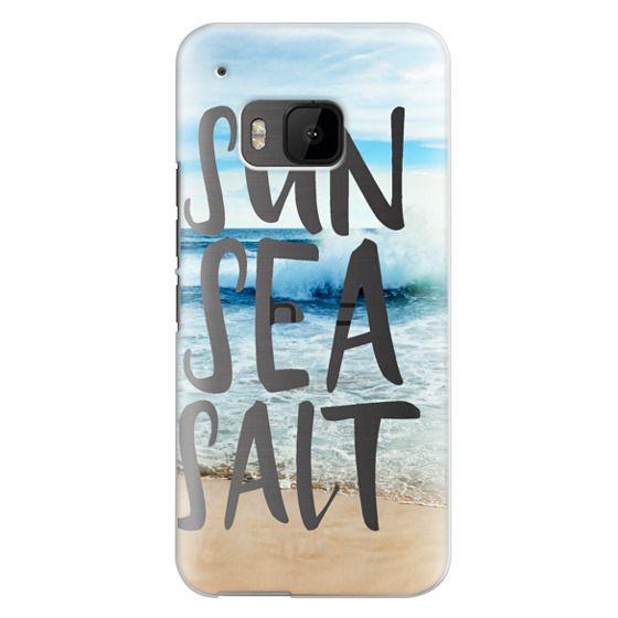 Htc One M9 Cases - SUN SEA SALT