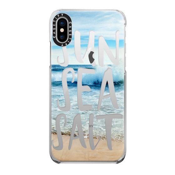 iPhone X Cases - SUN SEA SALT