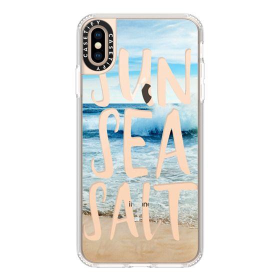 iPhone XS Max Cases - SUN SEA SALT