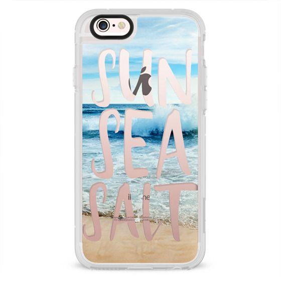iPhone 4 Cases - SUN SEA SALT