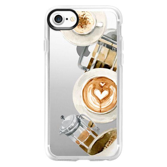 iPhone 7 Cases - Coffee