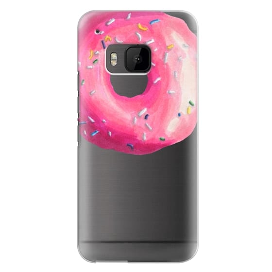 Htc One M9 Cases - Pink Glaze Donut