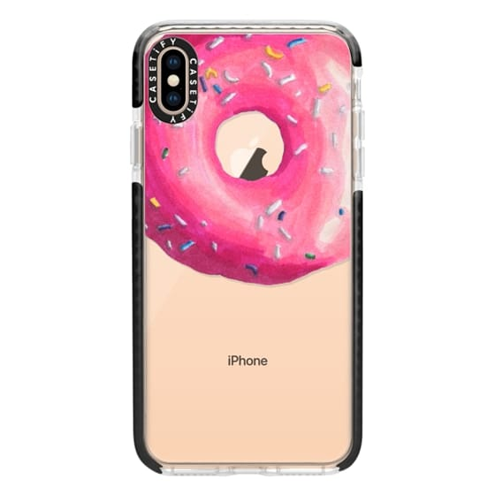 iPhone XS Max Cases - Pink Glaze Donut