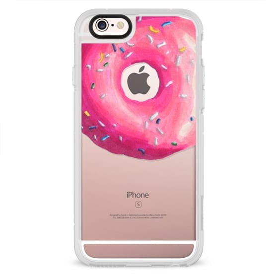iPhone 4 Cases - Pink Glaze Donut