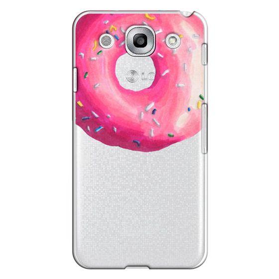 Optimus G Pro Cases - Pink Glaze Donut