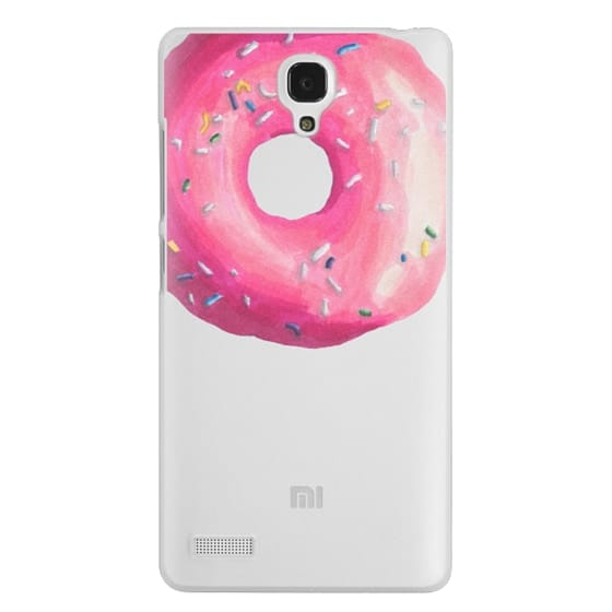 Redmi Note Cases - Pink Glaze Donut