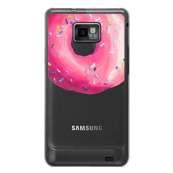 Samsung Galaxy S2 Cases - Pink Glaze Donut
