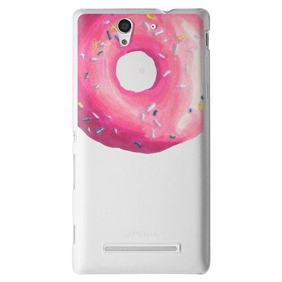 Sony C3 Cases - Pink Glaze Donut