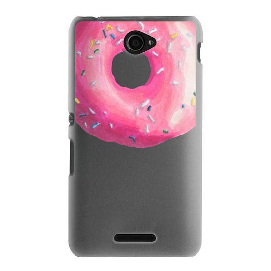 Sony E4 Cases - Pink Glaze Donut