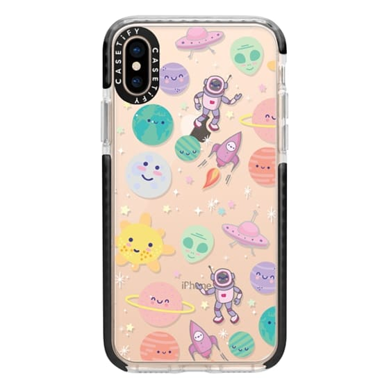 iPhone XS Cases - Cute Space