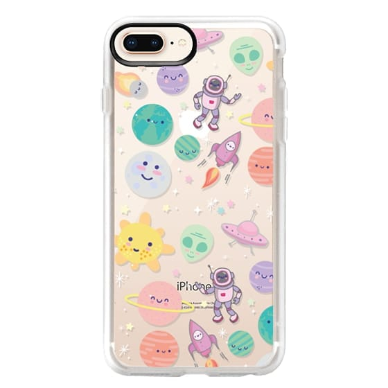iPhone 8 Plus Cases - Cute Space