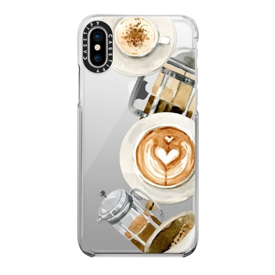 iPhone X Cases - Coffee
