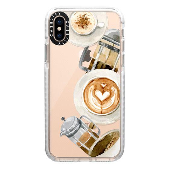 iPhone XS Cases - Coffee