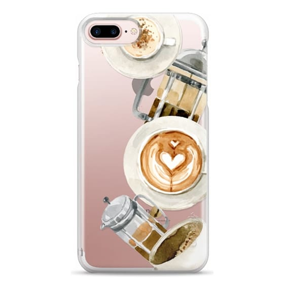 iPhone 7 Plus Cases - Coffee