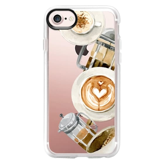 iPhone 4 Cases - Coffee