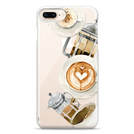 iPhone 8 Plus Cases - Coffee
