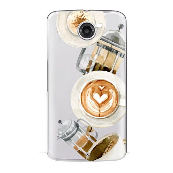 Nexus 6 Cases - Coffee