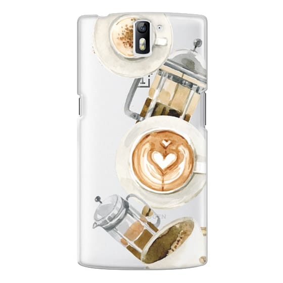 One Plus One Cases - Coffee