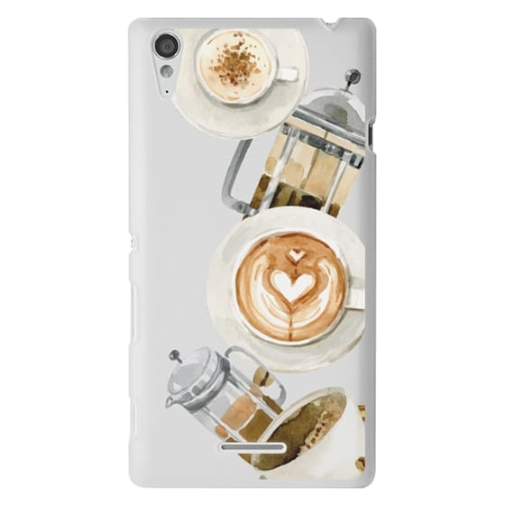 Sony T3 Cases - Coffee