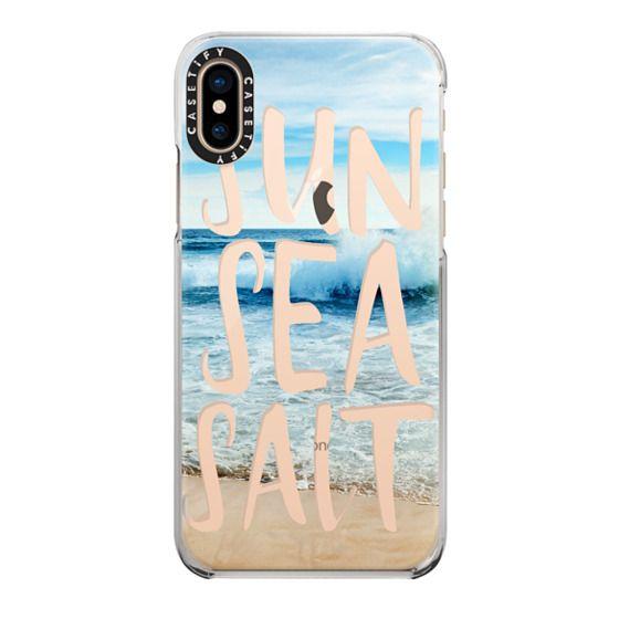 iPhone XS Cases - SUN SEA SALT